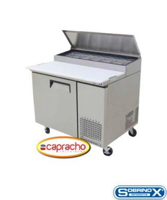 Cocina Industrial Capracho Sobrinox Mesa Refrigerada MRP 112 1P