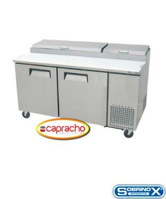 Cocina Industrial Capracho Sobrinox Mesa Refrigerada MRP 170 2P