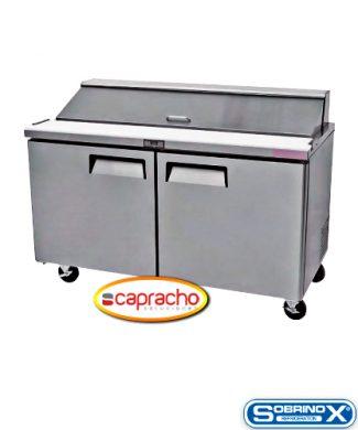 Cocina Industrial Capracho Sobrinox Mesa Refrigerada MRS 152 2P