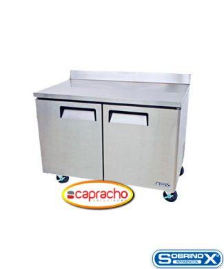 Cocina Industrial Capracho Sobrinox Mesa Refrigerada MRT 152 2P