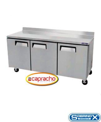 Cocina Industrial Capracho Sobrinox Mesa Refrigerada MRT 184 3P