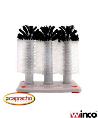 Accesorio Bar Capracho Winco Cepillo Limpa Vaso GWB 31