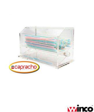 Accesorio Bar Capracho Winco Dispensador Popotes ACSD 712