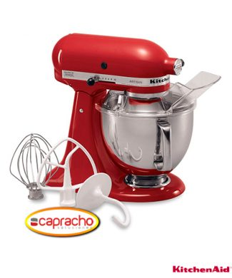 Cocina Industrial Capracho Kitchenaid Batidora KSM150PSER