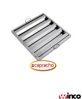 Cocina Industrial Capracho Winco Filtro Campana Industrial HFS 2020